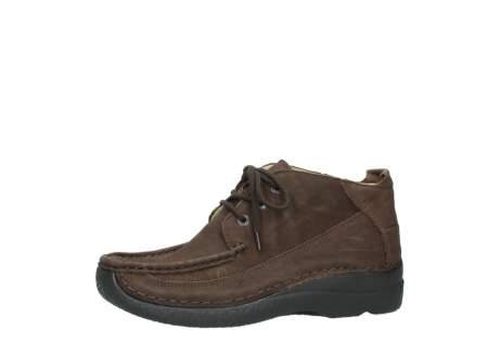 wolky lace up shoes 06200 roll moc 11300 brown nubuck_24