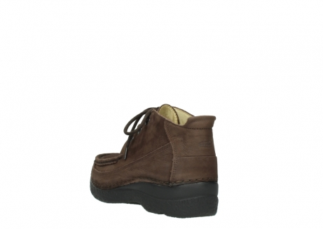 wolky lace up shoes 06200 roll moc 11300 brown nubuck_5