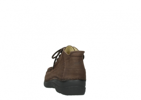 wolky lace up shoes 06200 roll moc 11300 brown nubuck_6
