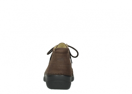 wolky lace up shoes 06200 roll moc 11300 brown nubuck_7