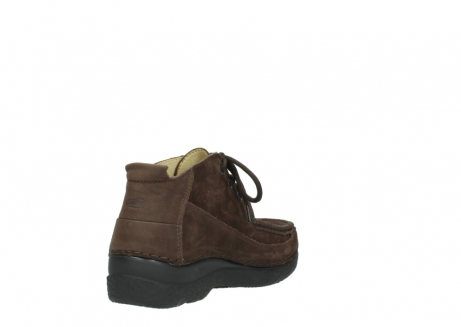 wolky lace up shoes 06200 roll moc 11300 brown nubuck_9