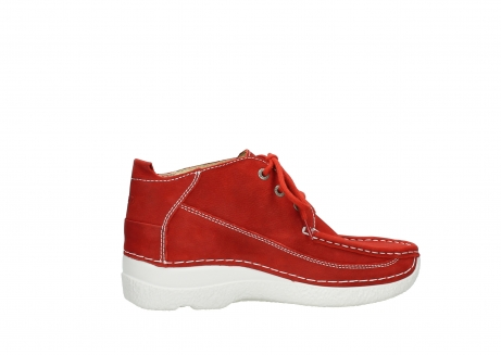 wolky lace up shoes 06200 roll moc 11570 red nubuck_12