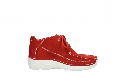 wolky lace up shoes 06200 roll moc 11570 red nubuck_13