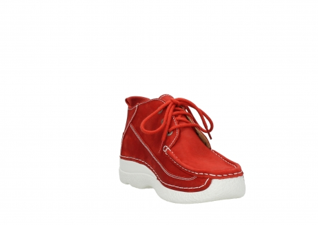 wolky lace up shoes 06200 roll moc 11570 red nubuck_17