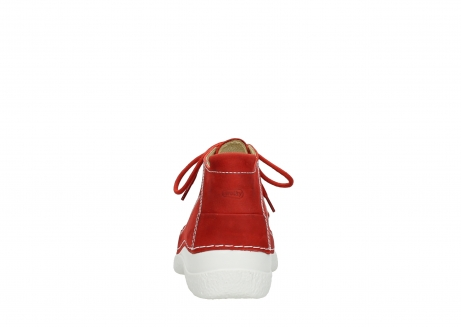 wolky lace up shoes 06200 roll moc 11570 red nubuck_7
