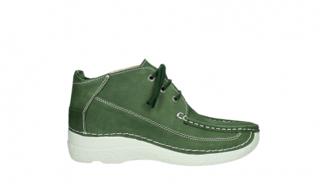 wolky lace up shoes 06200 roll moc 11720 moss green nubuck_1