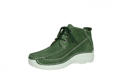 wolky lace up shoes 06200 roll moc 11720 moss green nubuck_10