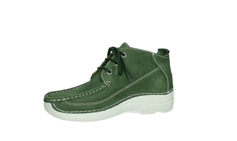 wolky lace up shoes 06200 roll moc 11720 moss green nubuck_11