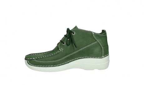 wolky lace up shoes 06200 roll moc 11720 moss green nubuck_12