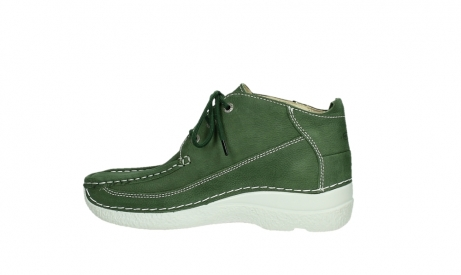 wolky lace up shoes 06200 roll moc 11720 moss green nubuck_13