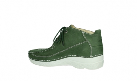 wolky lace up shoes 06200 roll moc 11720 moss green nubuck_14