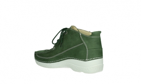 wolky lace up shoes 06200 roll moc 11720 moss green nubuck_15