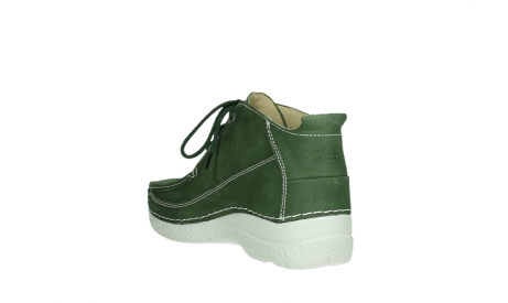 wolky lace up shoes 06200 roll moc 11720 moss green nubuck_16