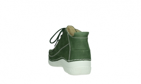 wolky lace up shoes 06200 roll moc 11720 moss green nubuck_17