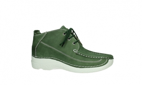 wolky lace up shoes 06200 roll moc 11720 moss green nubuck_2