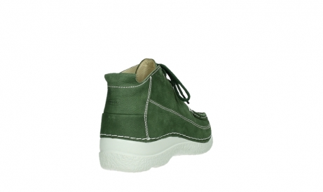 wolky lace up shoes 06200 roll moc 11720 moss green nubuck_20