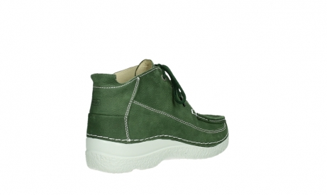 wolky lace up shoes 06200 roll moc 11720 moss green nubuck_21