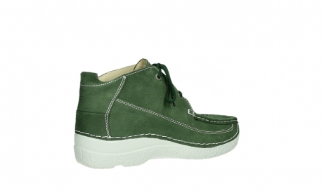 wolky lace up shoes 06200 roll moc 11720 moss green nubuck_22