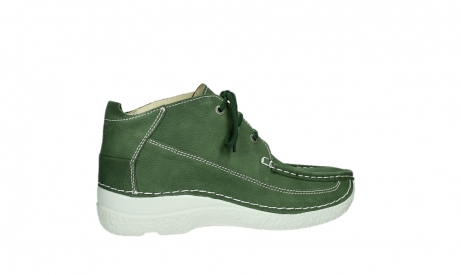 wolky lace up shoes 06200 roll moc 11720 moss green nubuck_23