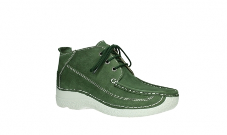 wolky lace up shoes 06200 roll moc 11720 moss green nubuck_3