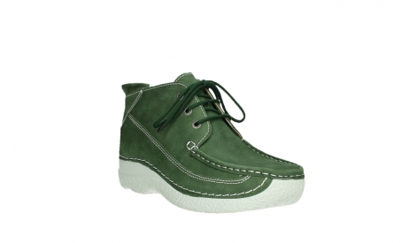 wolky lace up shoes 06200 roll moc 11720 moss green nubuck_4