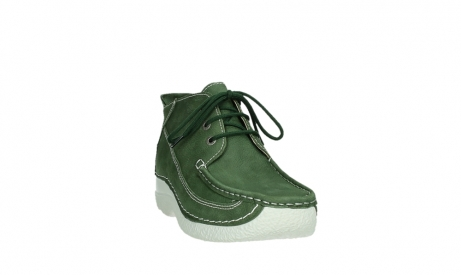 wolky lace up shoes 06200 roll moc 11720 moss green nubuck_5