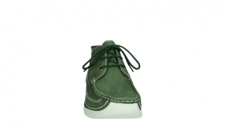 wolky lace up shoes 06200 roll moc 11720 moss green nubuck_6