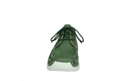 wolky lace up shoes 06200 roll moc 11720 moss green nubuck_7