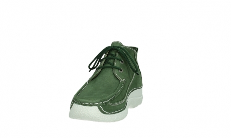 wolky lace up shoes 06200 roll moc 11720 moss green nubuck_8