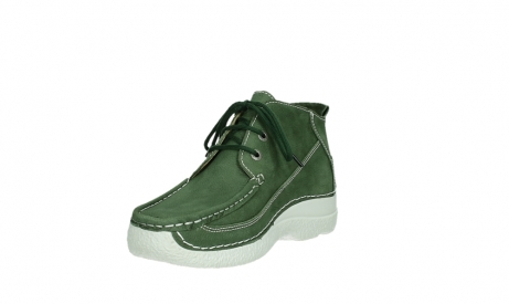 wolky lace up shoes 06200 roll moc 11720 moss green nubuck_9