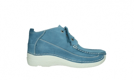 wolky lace up shoes 06200 roll moc 11856 baltic blue nubuck_1