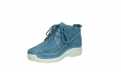 wolky lace up shoes 06200 roll moc 11856 baltic blue nubuck_10