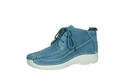 wolky lace up shoes 06200 roll moc 11856 baltic blue nubuck_11