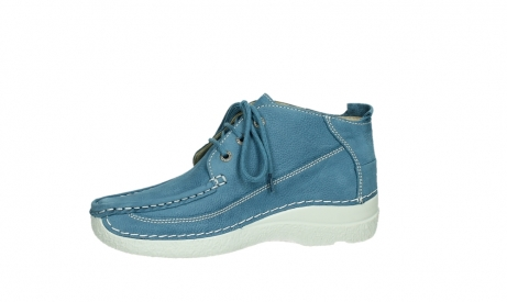 wolky lace up shoes 06200 roll moc 11856 baltic blue nubuck_12