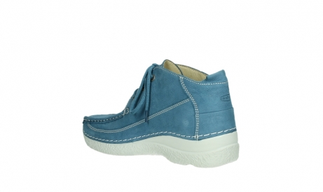 wolky lace up shoes 06200 roll moc 11856 baltic blue nubuck_16