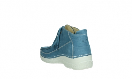 wolky lace up shoes 06200 roll moc 11856 baltic blue nubuck_17