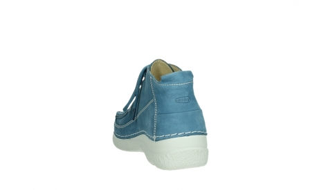 wolky lace up shoes 06200 roll moc 11856 baltic blue nubuck_18