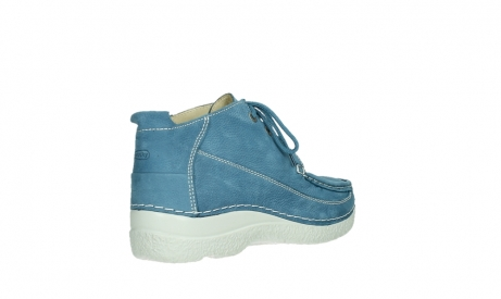 wolky lace up shoes 06200 roll moc 11856 baltic blue nubuck_22