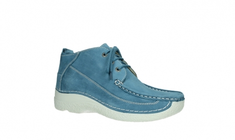 wolky lace up shoes 06200 roll moc 11856 baltic blue nubuck_3