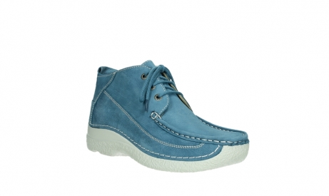 wolky lace up shoes 06200 roll moc 11856 baltic blue nubuck_4