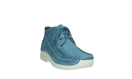 wolky lace up shoes 06200 roll moc 11856 baltic blue nubuck_5