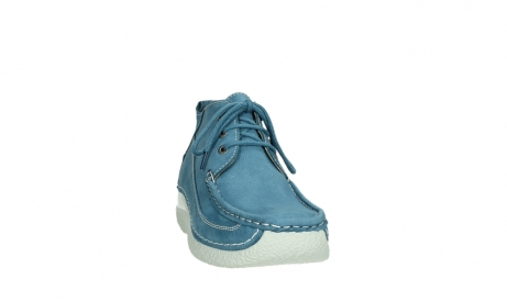 wolky lace up shoes 06200 roll moc 11856 baltic blue nubuck_6