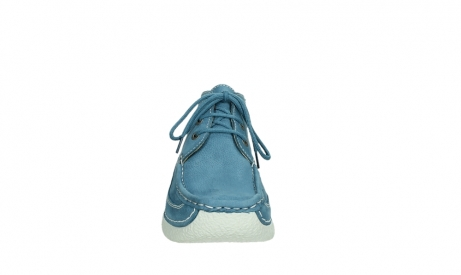 wolky lace up shoes 06200 roll moc 11856 baltic blue nubuck_7