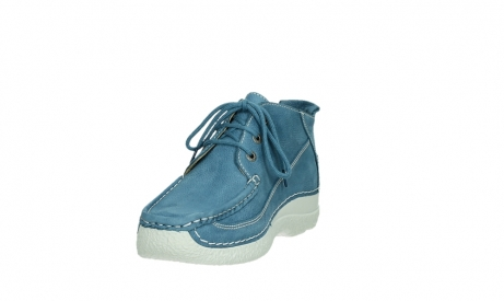 wolky lace up shoes 06200 roll moc 11856 baltic blue nubuck_9