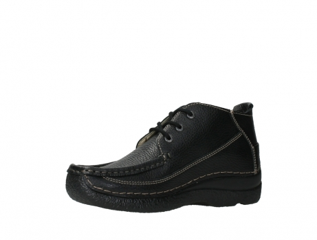 wolky lace up shoes 06200 roll moc 70000 black leather_11