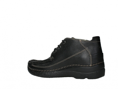 wolky lace up shoes 06200 roll moc 70000 black leather_15