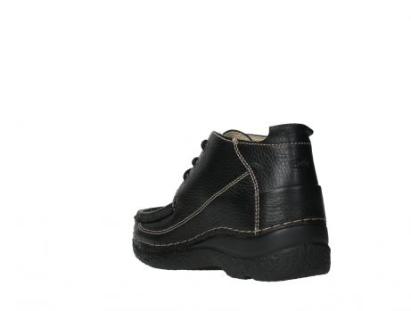 wolky lace up shoes 06200 roll moc 70000 black leather_17