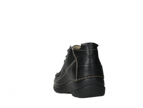 wolky lace up shoes 06200 roll moc 70000 black leather_18