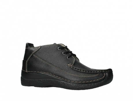 wolky lace up shoes 06200 roll moc 70000 black leather_2