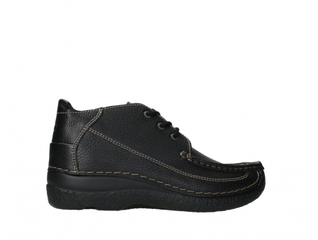 wolky lace up shoes 06200 roll moc 70000 black leather_24